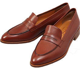 Penny Loafer /Maroon