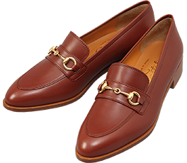 Bit Loafer / Maroon